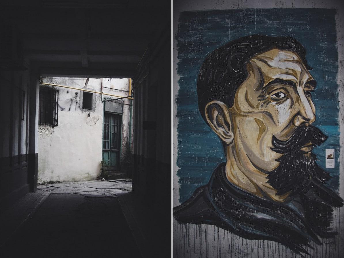 bukarest rumänien city guide wasmitb collage einfahrt streetart portrait