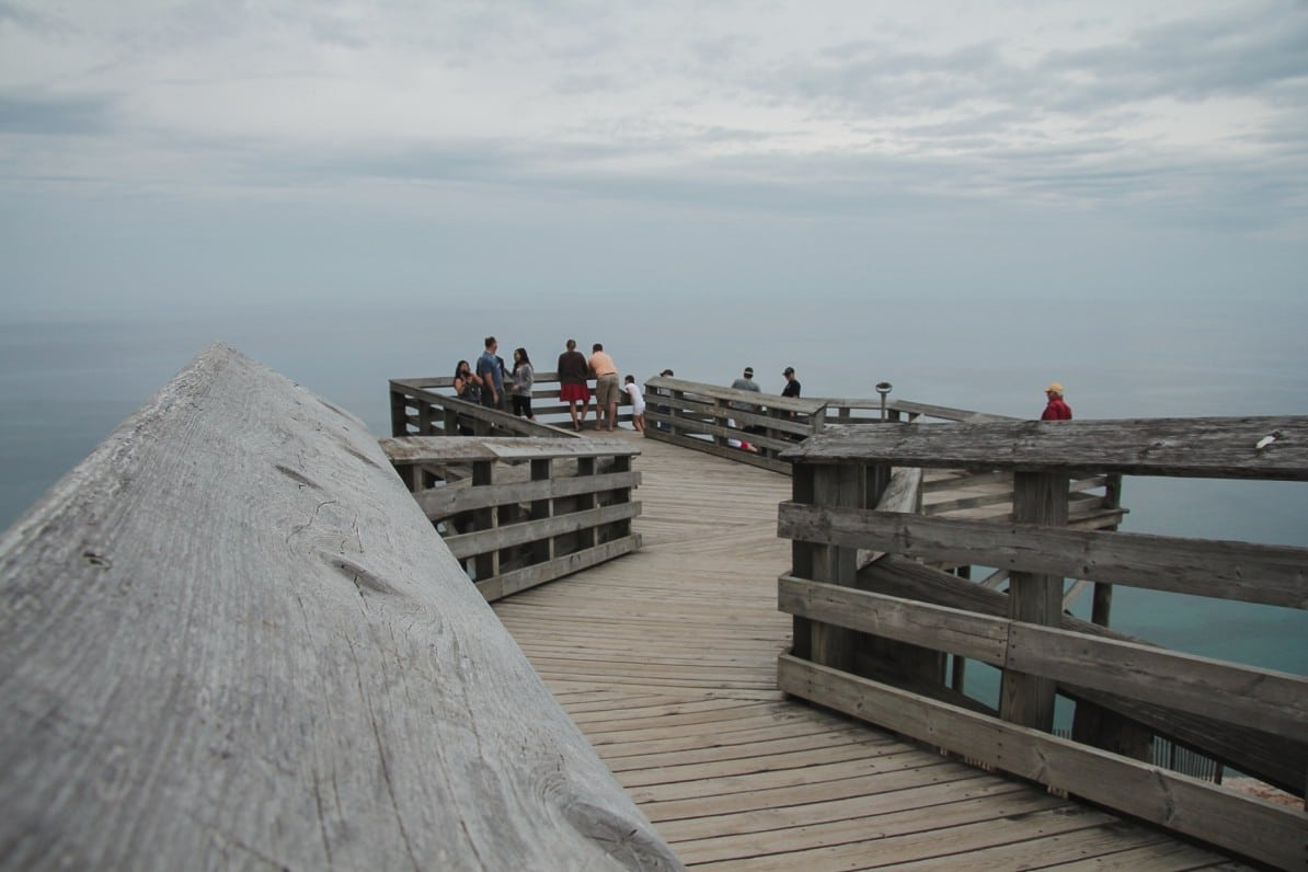 sleeping bear dunes national lakeshore michigan usa wasmitb aussichtsplattform