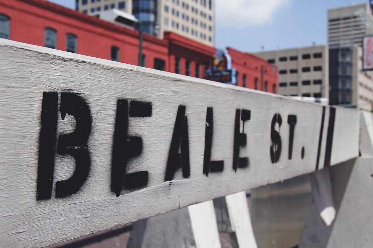 memphis beale street wasmitb straßenschild