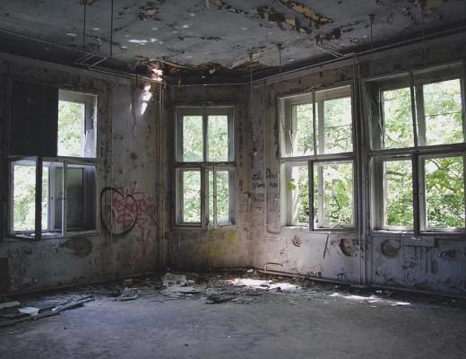 Berlin Weissensee Kinderkrankenhaus Kinderklinik wasmitb leeres Zimmer