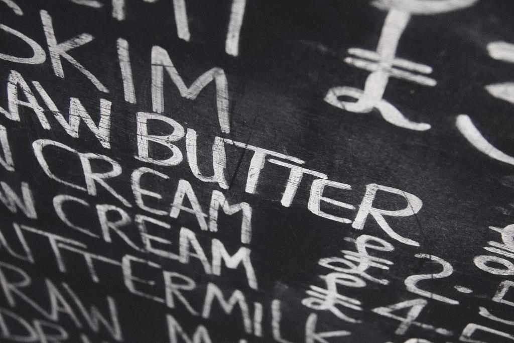 Butter Borough Market London wasmitb