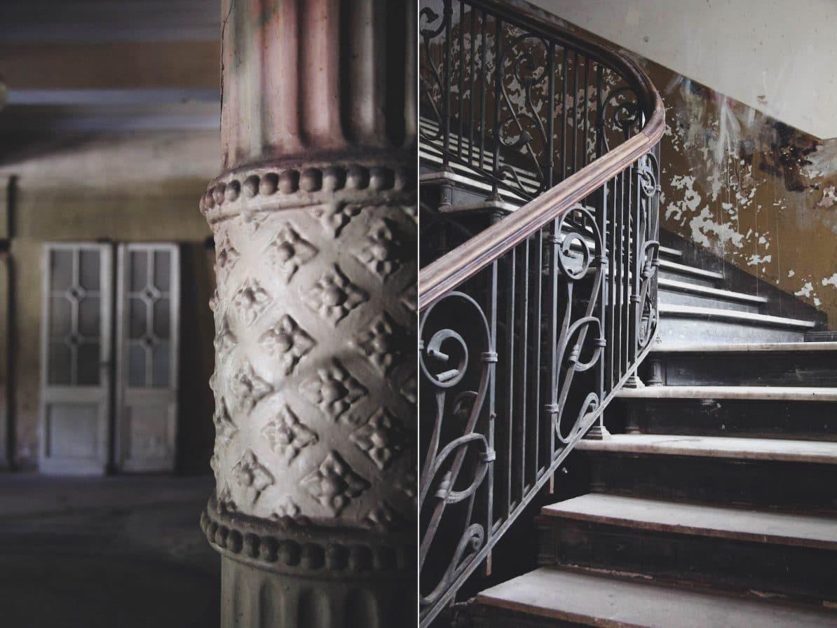 thale hotel zehnpfund harz b-ware säule treppe