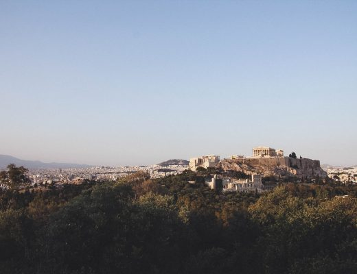 Athen: Blick auf die Akropolis