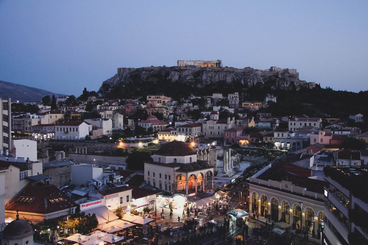 Athen: Ausblick vom A for Athens